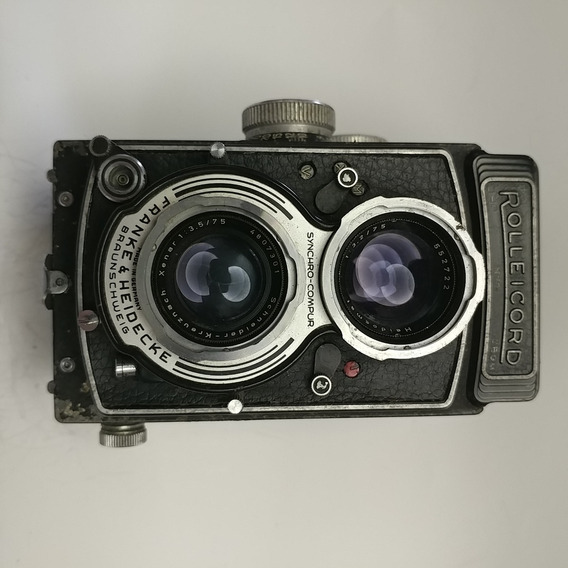 Câmeras Fotográficas Colecionáveis - Rolleicord V Model K3c