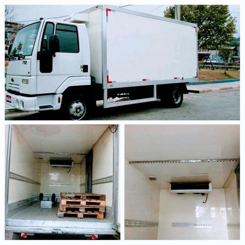 Imagem 1 de 8 de Ford Cargo 712/2012 Baú Refrigerado