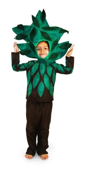 Disfraz De Árbol Para Niña Y Niño Primavera Zizoi Talla 2-12