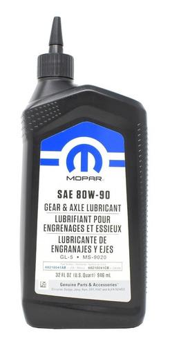 Aceite Diferencial Original Mopar 80w90 Gl-5 946ml