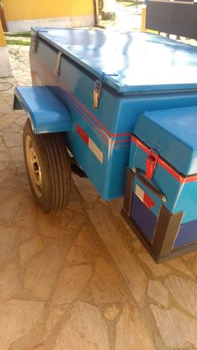 Carroçinha Aberta Safari Reboque