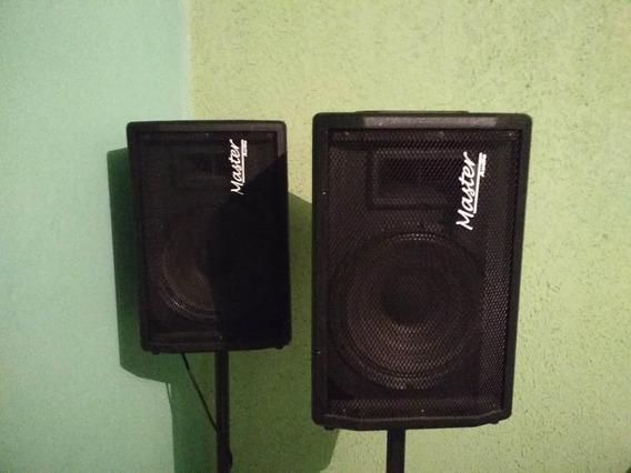 Monitor Retorno Ativo + Passivo Falante 10 Master Audio