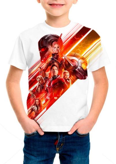 Camiseta Infantil Filme Homem Formiga E A Vespa