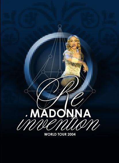 Dvd Madonna - Re-invention Tour (madame X)