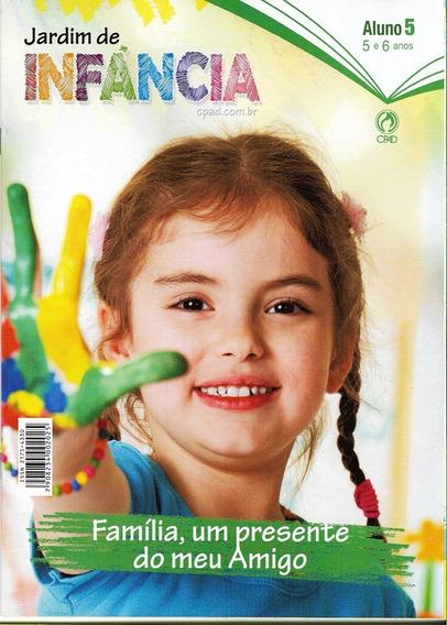 4 Revistas Jardim De Infância Aluno 1° Trimestre 2020