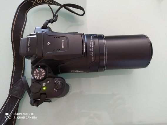 Câmera Nikon Coolpix P900 + Tripés + Cases + Cartão
