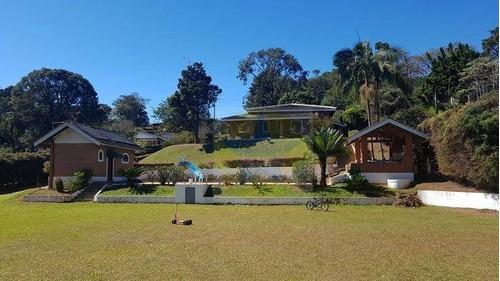 Chácara Residencial À Venda, Jardim Estância Brasil, Atibaia. - Ch1106