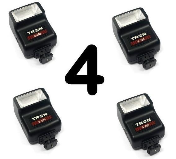 Flash Para Câmera - Tron S200 - Kit Com 4
