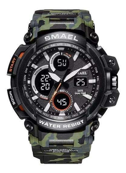 Relógio Masculino Esportivo Digital Smael 1708 Prova D