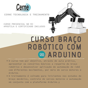 Arduino Braço Robótico - Centro Rio De Janeiro - Aula