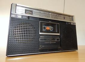 Rádio Gravador Am-fm General Eletric Mod. 3-5251a Leia