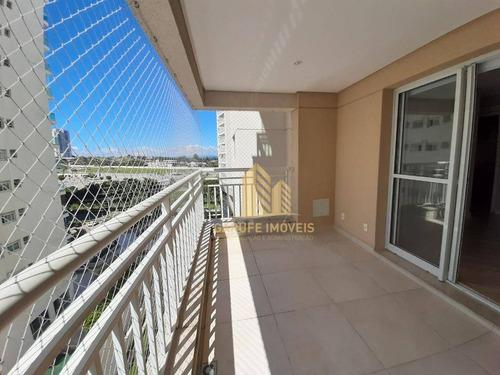 Apartamento Com 3 Dormitórios À Venda, 99 M² Por R$ 670.000,00 - Jardim Esplanada - São José Dos Campos/sp - Ap0959