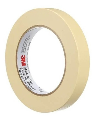 Imagen 1 de 2 de Masking Tape 1'' Pulgada Modelo 203 Marca 3m 24mmx50m
