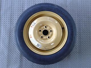 Llanta Refaccion Rin 16 5x114.3 T135/90 Suzuki Sx4 X-over 2010-2013