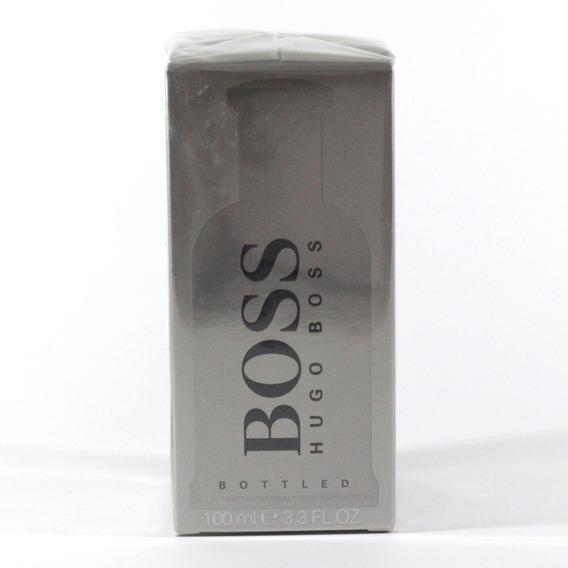 Perfume Hugo Boss Bottled Edt Man 100ml - Selo Adipec