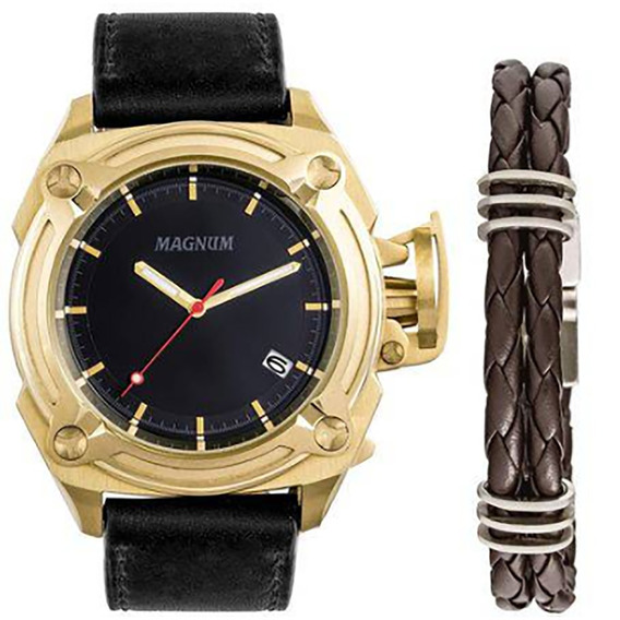 Relógio Magnum Original Masculino Ma34503c Com Nota Fiscal