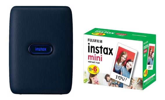 Instax Mini Link Impressora Instantânea Fujifilm + Filme 60