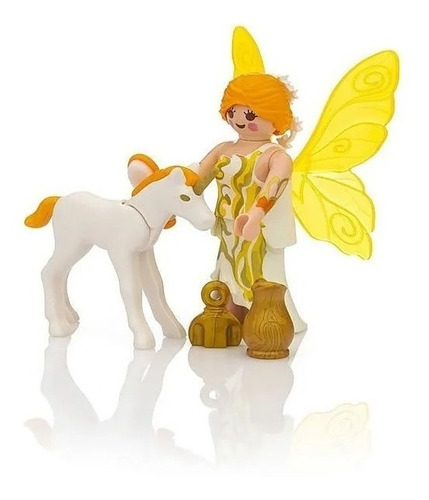 Playmobil 9438 Hada Del Sol Con Unicornio Original Educando