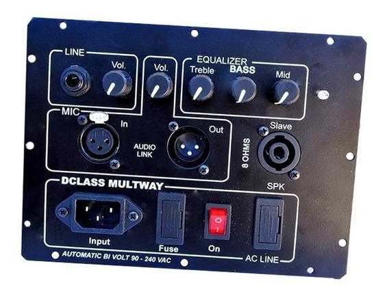 Kit Dclass P/ Ativação De Caixas Multivias 1000 Watts Rms