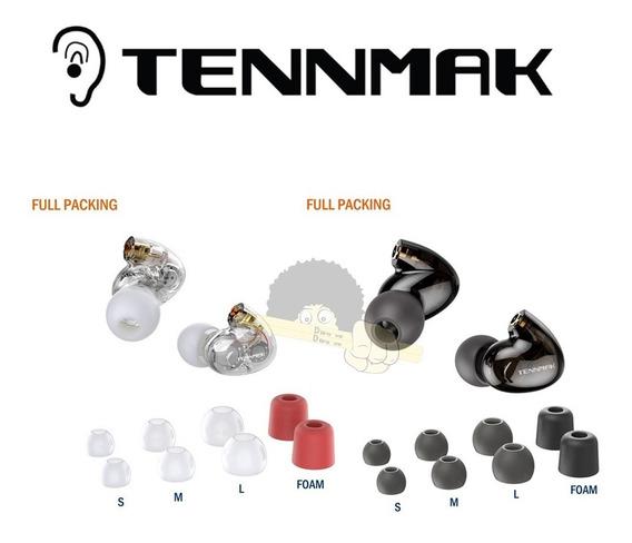 Fone De Ouvido Tennmak Pro 4 Drives(2l+2r) - Cabeças Do Fone