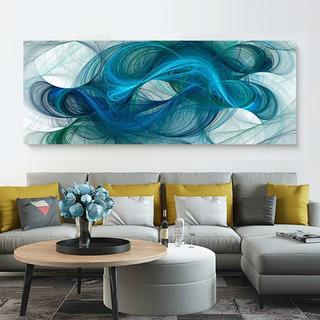 Cuadro Decorativo Moderno Canvas De Algodón Abstracto Hd No Sintetico Tintas Ecológicas Listo Para Colgar Opcion Marco