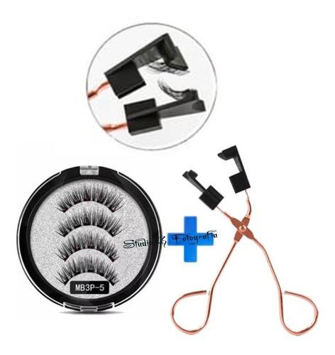Imagen 1 de 4 de Pestañas Magnética Postiza Imanes - Unidad a $37000