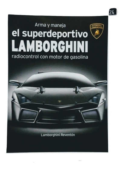Lamborghini Para Armar - Fasiculo 24