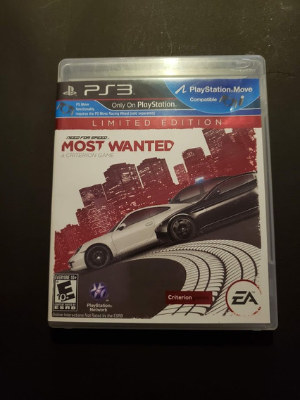 Need For Speed Most Wanted Limited Edition Original Usa
