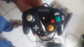 Controle De Game Cube Original Preto 100%