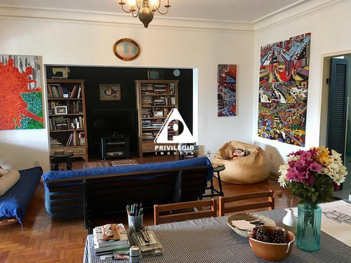 Casa De Rua À Venda, 4 Quartos, 2 Vagas, Santa Teresa - Rio De Janeiro/rj - 25941