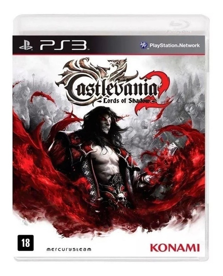 Castlevania Lords Of Shadow 2 Ps3 Fisica Lacrado Nfe