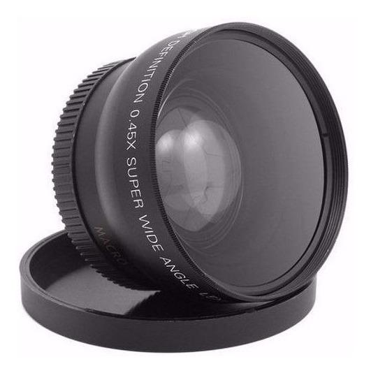 52mm Grande Angular + Macro P/ Nikon D3200 D3100 D5200 D5100