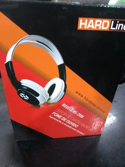 Fone De Ouvido Hard Line Ws 2000 Micro Sd