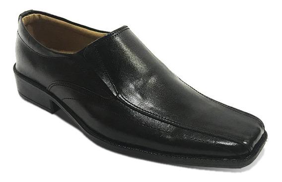 Zapato Formal En Cuero Mocasín Elegante Para Hombre