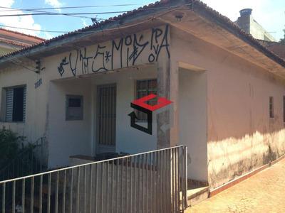 Terreno À Venda, 125 M² Por R$ 480.000 - Vila Alzira - Santo André/sp - Te4738