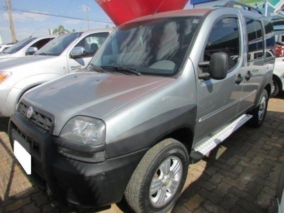 Fiat Doblo 1.8 Mpi 8v Adventure Prata Flex 4p Manual 2005