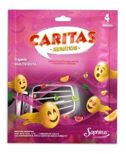 Caritas Aromaticas Saphirus X 6 Unidades -  Latin Srl
