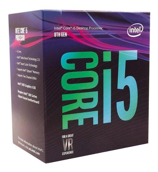 Processador Intel Core I5 8400 2.8ghz 9mb 8ª Geração Coffee