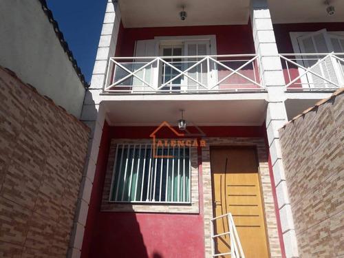 Sobrado Com 3 Dormitórios À Venda Por R$ 510.000,00 - Itaquera - São Paulo/sp - So0121