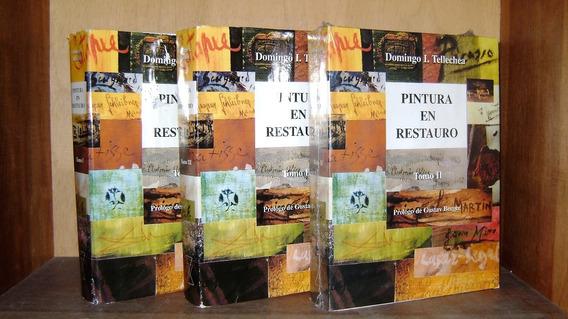 Livro - Coleção Pintura En Restauro - 3 Volumes