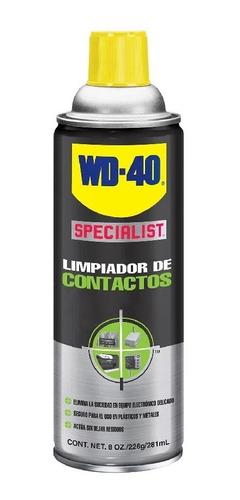 Imagen 1 de 6 de Lubricante Limpiador De Contactos Specialist Wd-40 281ml