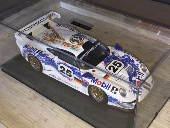 Porsche 911 Gt1 Le Mans 1996 1:18 Ut + Expositor Acrilico