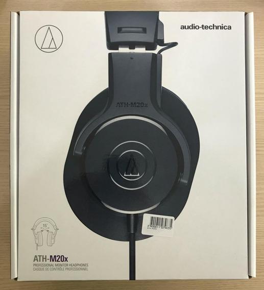 Fone Profissional Audio Technica M20x Monitor