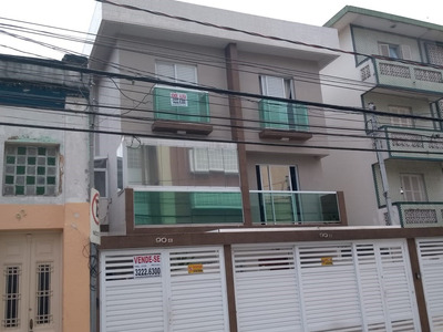 Sobreposta Alta Campo Grande - Santos 3 Dorm. Aceita Permuta
