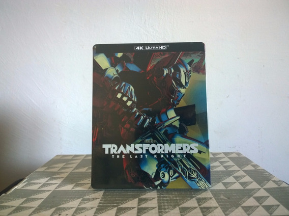 Transformers T Last Knight Steelbook 4k Ultra Hd+ Br+ B Disc