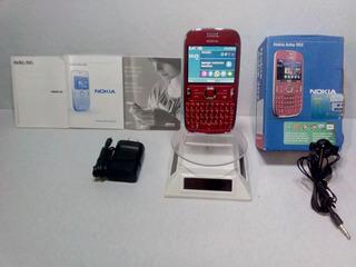 Nokia Asha 302 Rojo Movistar --envío Gratis--