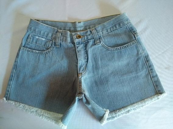 Shorts Em Jeans Claro Ref Ss 197