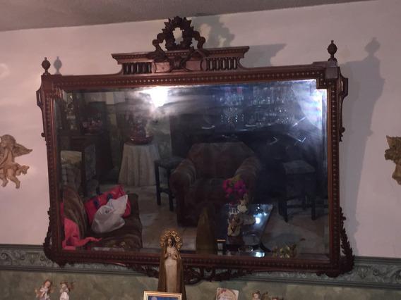 Remato Precioso Espejo De Más De 100 Años De Antigüedad