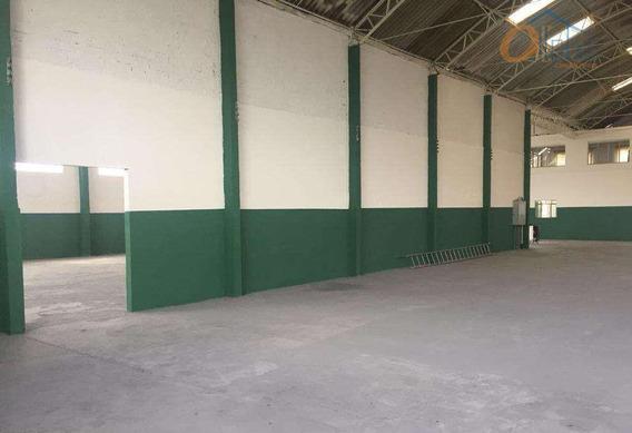 Galpão Para Alugar, 1400 M² Por R$ 13.000/mês - Parque Jurema - Guarulhos/sp - Ga0018