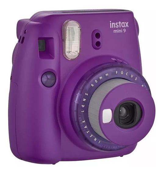 Câmera Instantânea Fuji Instax Mini 9 Roxa Açai